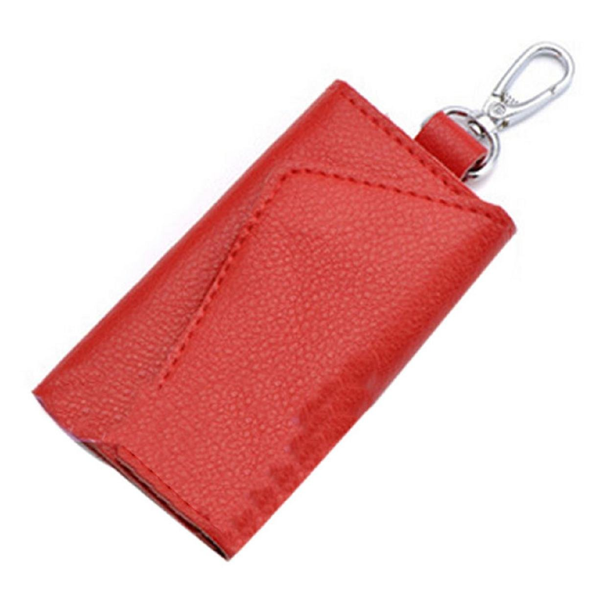 ABC® New Fashion Leather Key Wallets Creative Card Package Multi-function Key Bill Purse