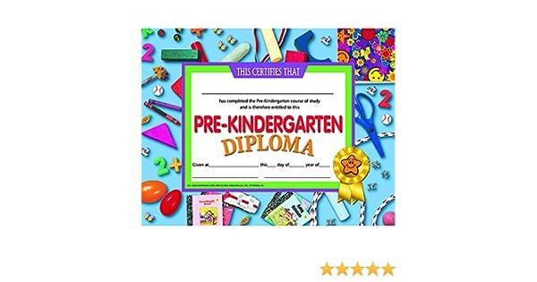 Amazon.com: H-VA500 - PRE-KINDERGARTEN DIPLOMA: Office Products