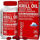 Bronson Antarctic Krill Oil 1000 mg with Omega-3s