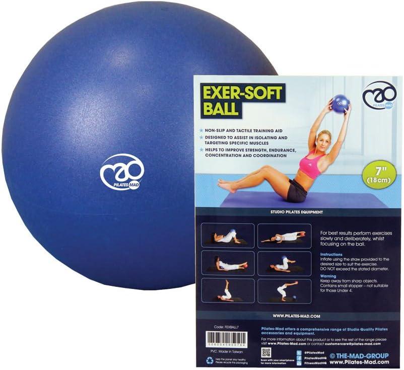 Yoga Mad Exer-Soft Ball Exercise Stretching Pilates