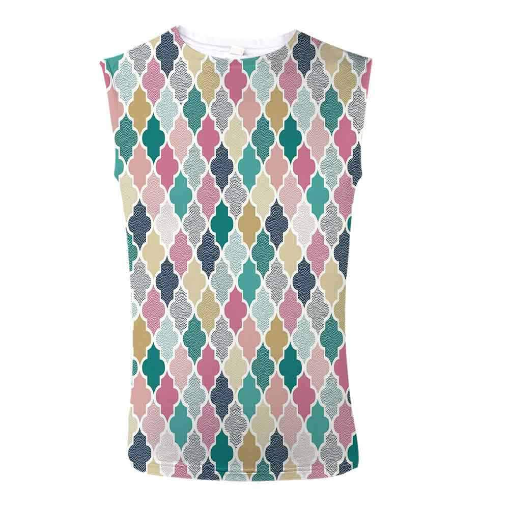 Mens Apparel Mens Triblend Blotter Tank Top Geometric,Christmas Ornaments in