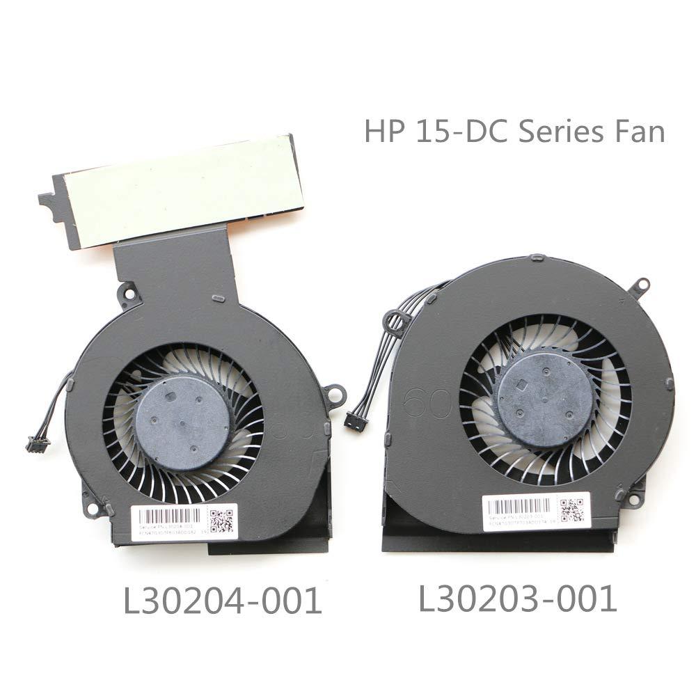 Cooler para HP Omen 15-DC 15-DC0013TX 15-DC0004TX 15-DC0005TX 15-DC0007TX 15-DC0011TX 15-DC0123TX 15-DC0153TX L30203-001