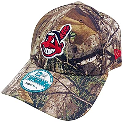 Cleveland Indians The League Realtree Camo 9FORTY Adjustable Hat / Cap