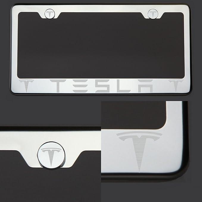 Amazon.com: One Tesla láser grabado el logotipo polaco ...