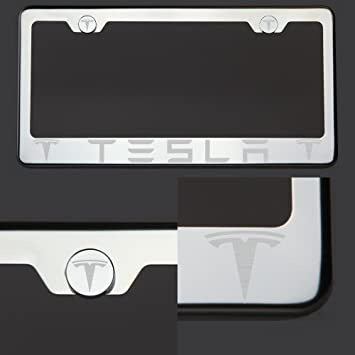 Amazon.com: One Tesla láser grabado el logotipo polaco ...