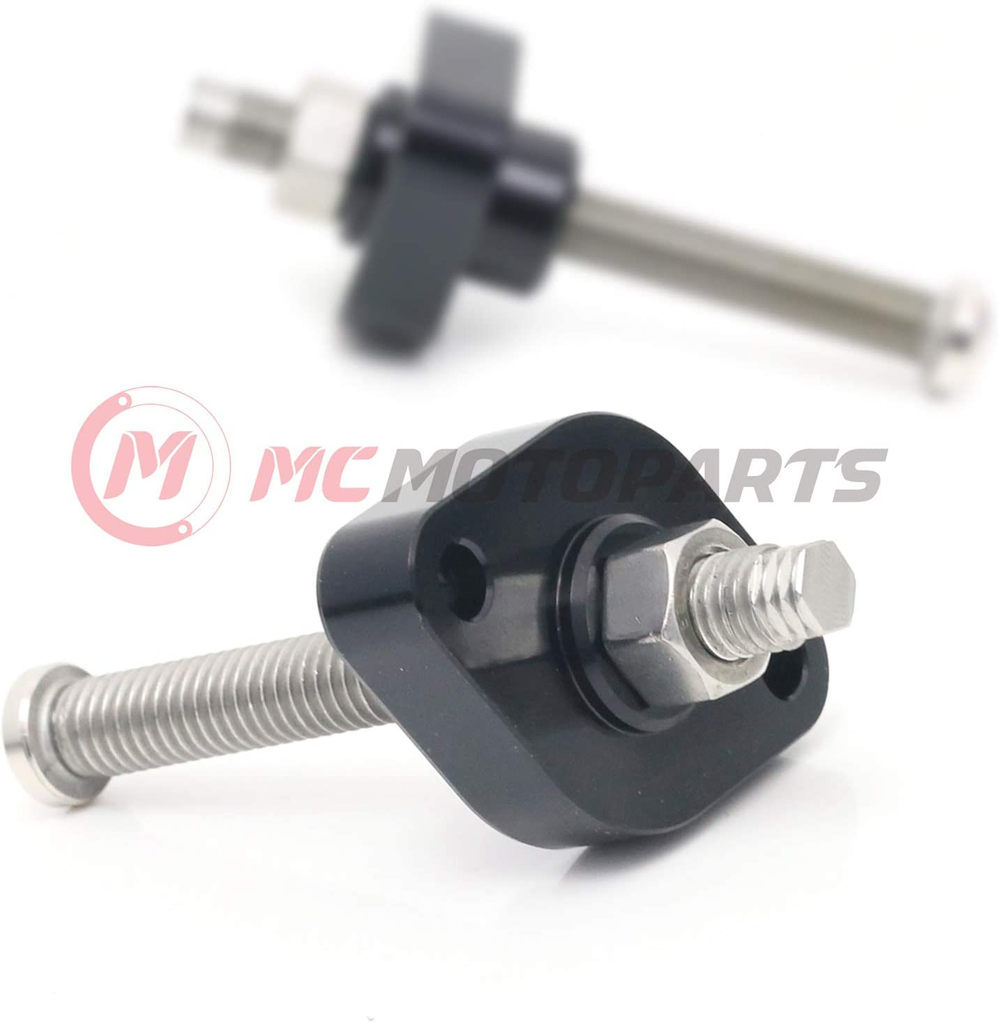 MC MOTOPARTS CNC Adjustable HP Manual Cam Chain Tensioner For GSXR 600 1997-2000 1998 1999 Red