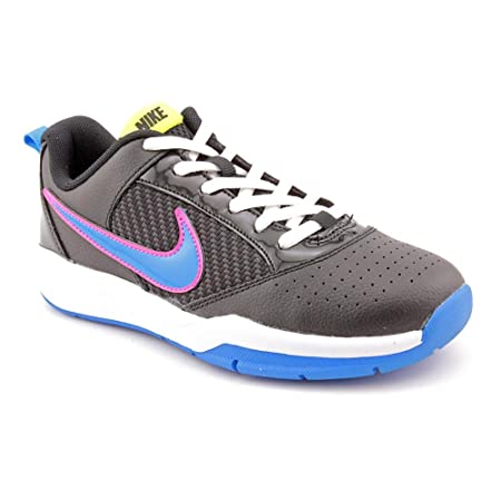 ed4aa7793d70 Nike Quick Ball Low GS Youth Boys Black Running Shoes Size 4 UK ...