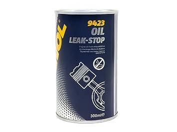 MANNOL 9423 Oil Leak-Stop - Aditivo tapafugas para aceite de motor: Amazon.es: Coche y moto