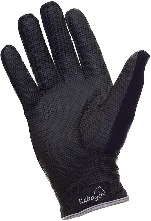 Kabayo Damen REIT 7 Handschuhe Unisex Stretch Atmungsaktiv