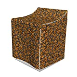 Ambesonne Abstract Washer Cover, Butterfly Wing Inspired Pattern Primitive Camouflage Style Simple, Waterproof Dustproof Decorative Fabric, 29
