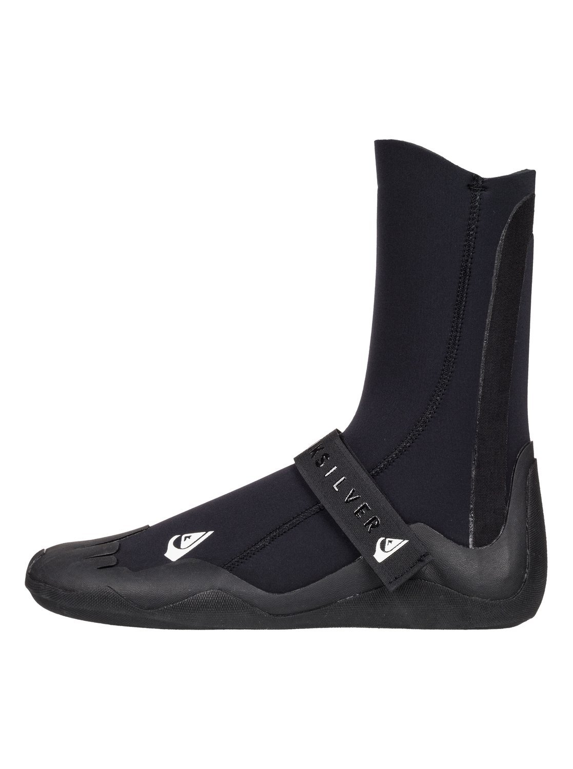 Quiksilver Mens 5Mm Syncro - Round Toe Surf Boots Round Toe Surf Boots Black 12