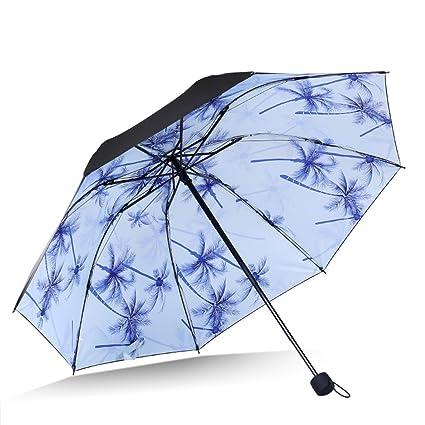 Paraguas plegable Sombrillas protectoras contra el sol sombrillas Sombrillas protectoras contra los rayos UV súper ligeras