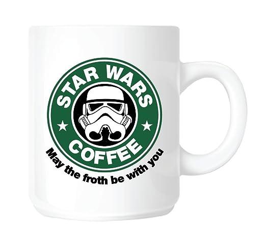 4 opinioni per Top Banana- Tazza Star Wars Coffee, imitazione di Starbucks Tazza in ceramica,