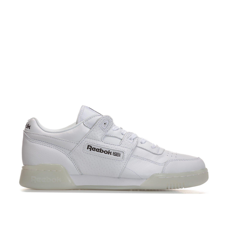 Reebok Workout Plus Id Herren Sneaker Weiszlig;  38 EU|Wei?