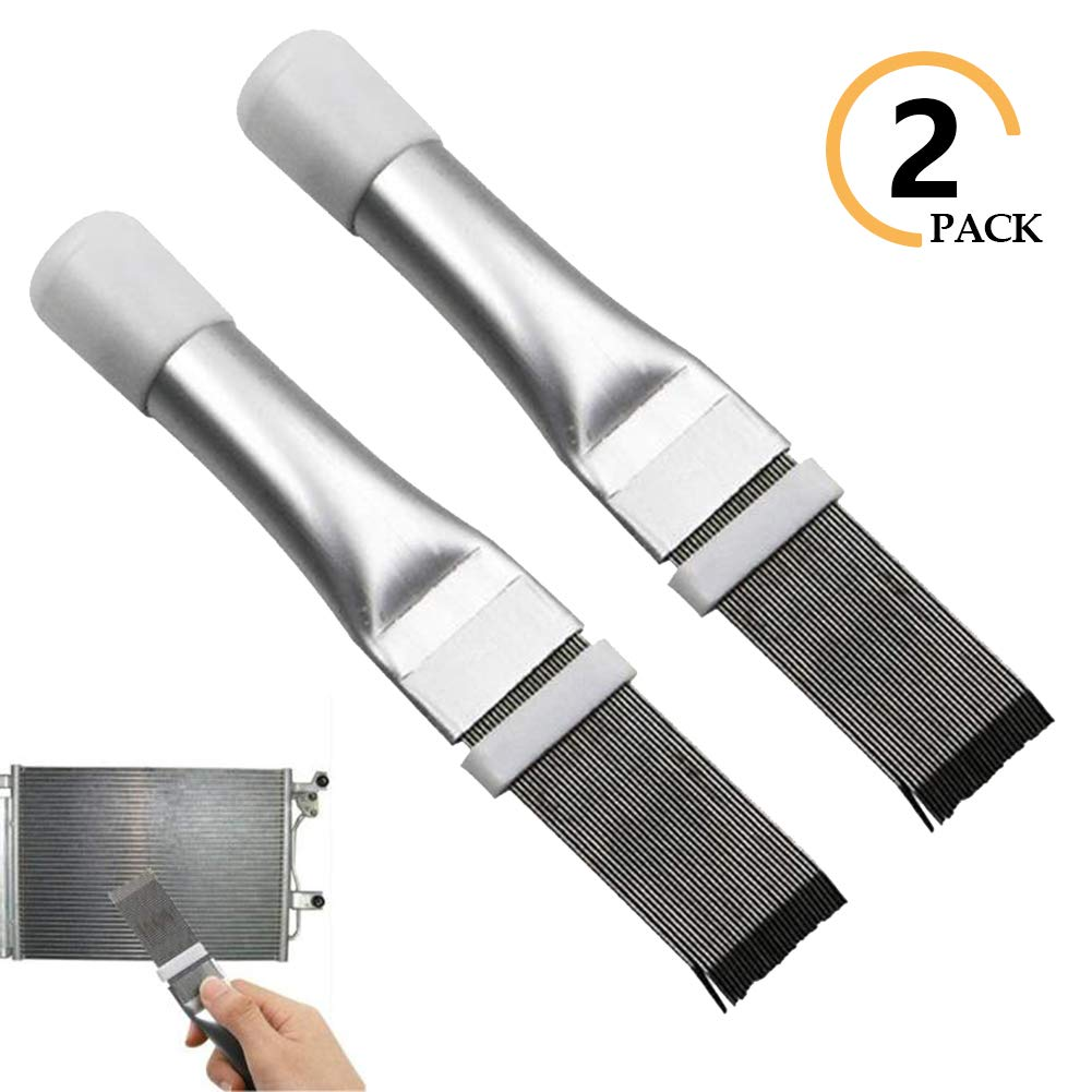 Fin Comb Air Conditioner Fin Cleaner,AC Condenser Coil Fin Straightener Evaporator Radiator Fin Cleaning Tool 1 Pack