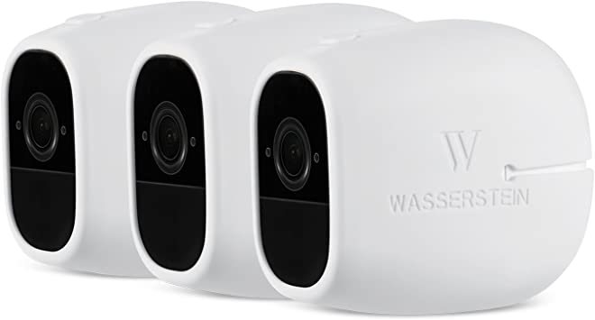 100/% Wire-Free Cameras by Wasserste 3 x Silicone Skins for Arlo Smart Security