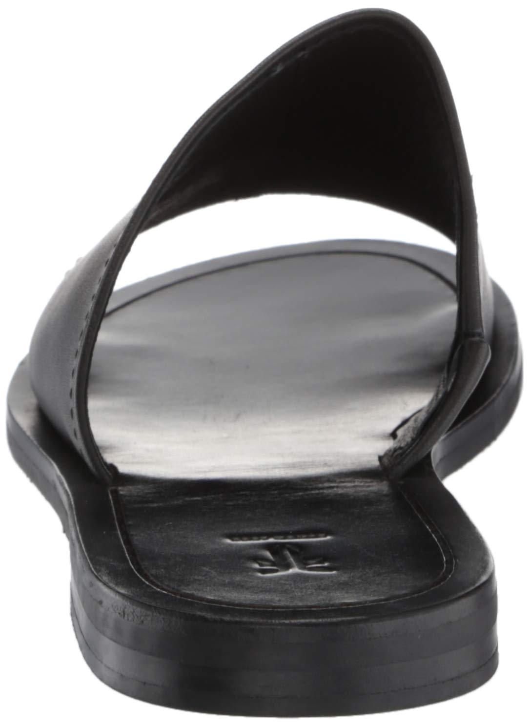 Frye Women S Robin Slide Flat Sandal Black 5 5 M