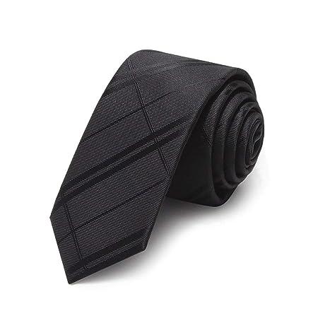 YXN Los Hombres de 5 cm Negro en Forma de Flecha Corbata Vestido ...