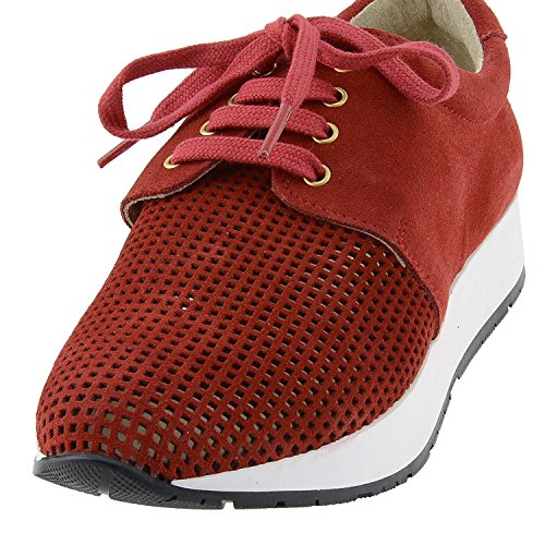 Donna Donna Alonso Paula Sneaker Sneaker Alonso Alonso Rosso Paula Rosso Paula fqURzwnSxX