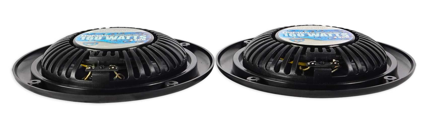 2 Rockville RSM65B 6.5'' 320w Waterproof Shallow Slim Speakers 4 RZR/ATV/UTV/Cart by Rockville (Image #6)