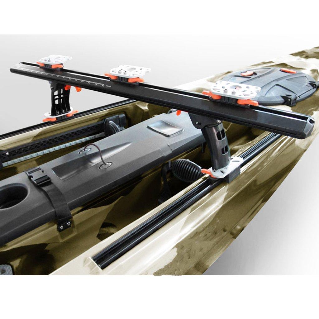 Gazechimp 1x Carril de Kayak con Tornillos de Montaje Accesorios de Deportes Acu/áticos Aire Libre Nataci/ón Pesca Exploraci/ón Acampada