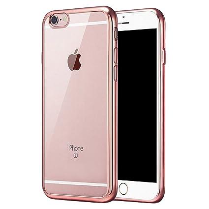 Amazon.com: Claro iPhone Carcasa para iPhone 6S Plus, iPhone ...