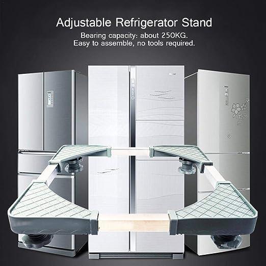 HUVE Base Móvil Universal Refrigerador Ajustable Soporte De Base ...