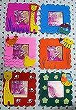 TOTAM Wooden cute Animal Design photo frame for birthday return gift ( SET OF 6 )