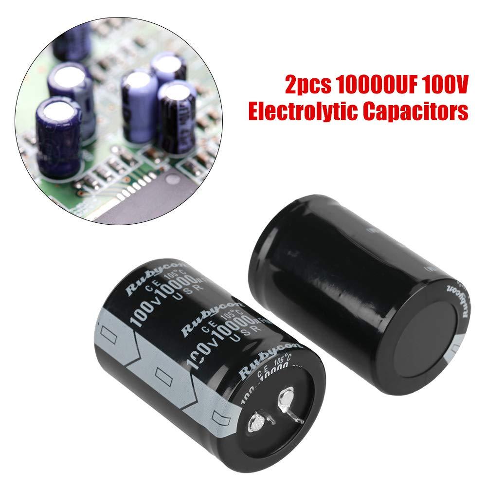 1 PEZZO Condensatore elettrolitico 10000uF 100V 105°