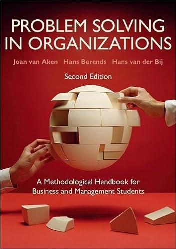 Problem solving in business management