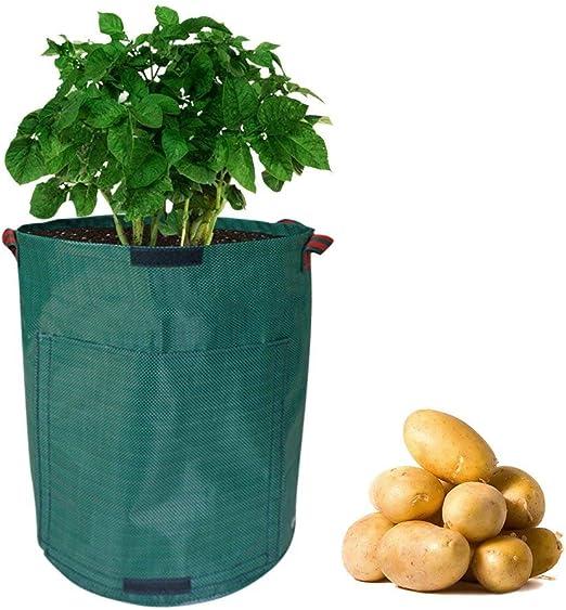 Keersi Bolsa de Cultivo para Plantar Patatas de 7 galones, para ...