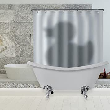 Amazon 48D Waterproof Polyester Bath Curtain Bathroom Partition Delectable Bathroom Dividers Partitions Decor