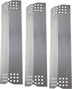 Grill Heat Plate for Select Kitchen Aid 720-0953E, 720-0953F, 730-0787D, 730-0953, 730-0953A, 730-0953B Nexgrill & Lowes 720-0819 Gas Models 3 Pack