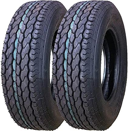 Tires For Sale >> Amazon Com 2 New Free Country Trailer Tires St 205 75d15 Deep Tread