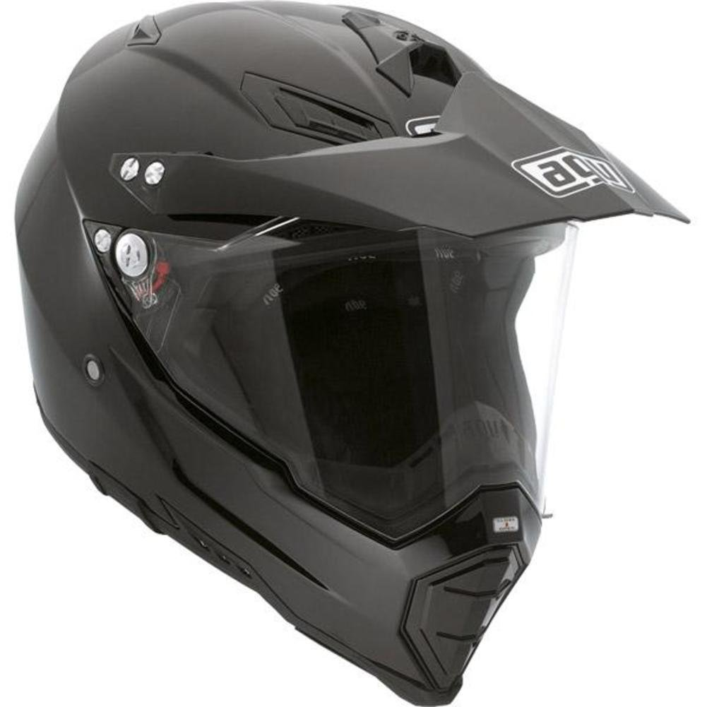 Amazon.com: AGV AX-8 Dual Sport EVO Helmet Grunge (Black, X-Large): Automotive