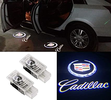 MIVISO Puerta de coche LED Logo Proyector Ghost Shadow Lights ...