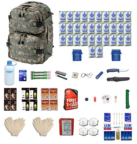 Extreme Survival Kit Four For Earthquakes, Hurricanes, Floods, Tornados, Emergency Preparedness
