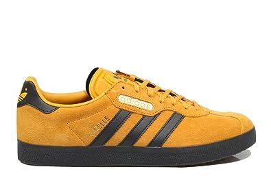 adidas Gazelle Super, Chaussures de Fitness garçon, Jaune (Amatac/Carbon / Casbla