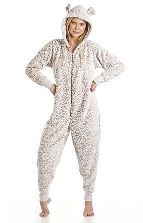 new york footwear affordable price La Marquise Grenouillère Adulte Polaire avec Capuche Femme - Pyjama