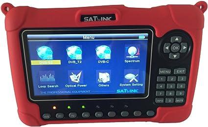 SATLINK WS6980 DVB-S2//C//T2 COMBO Spectrum analyzer Digital Satellite TV Finder