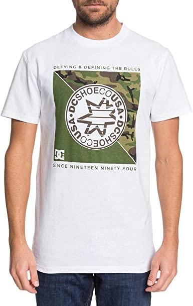 DC Shoes Rules Definition SS - Camiseta para Hombre EDYZT04028