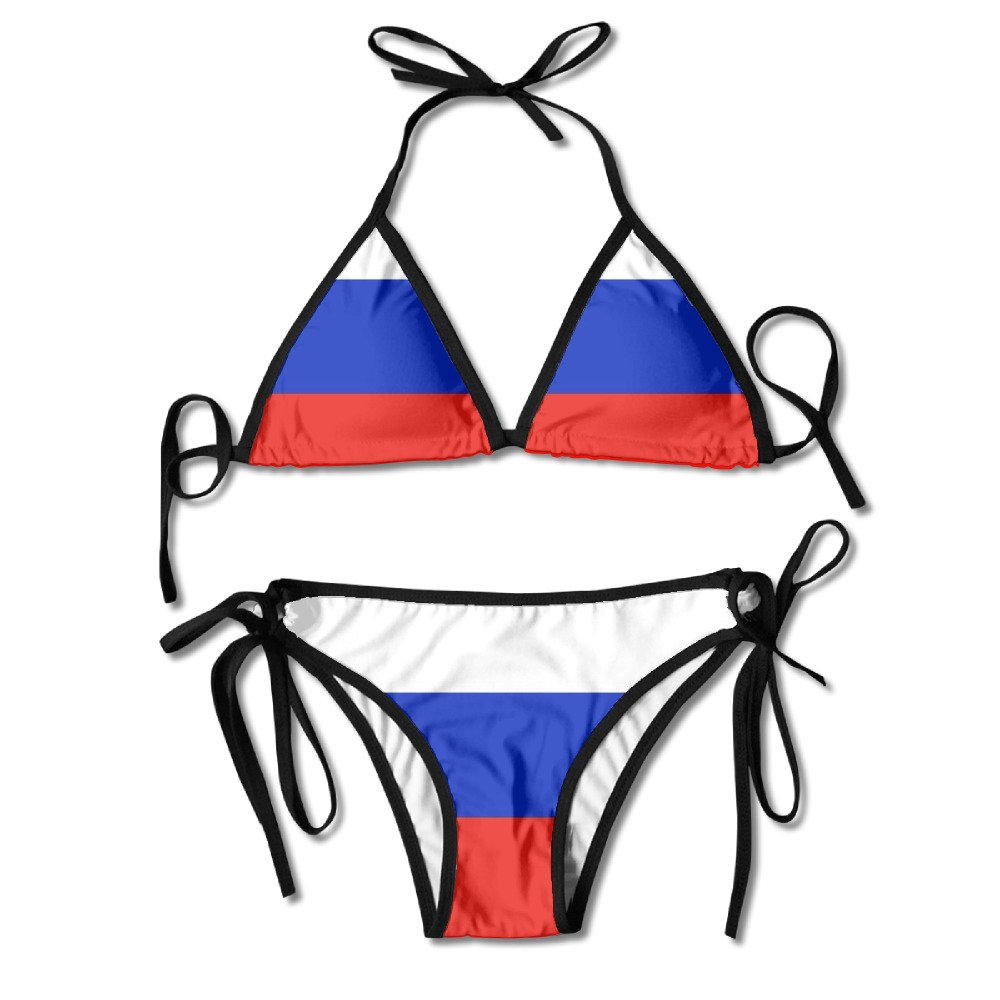 Flag of Mexico Sexy Boxing Bikini Women Halterneck Top and Set Swimsuits Beach Swimming N5ziFL