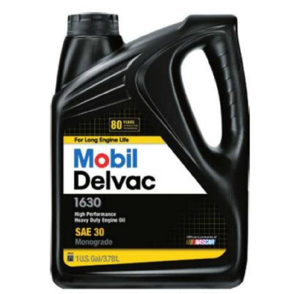 Mobil (112826-4PK) Delvac 1630 Motor Oil - 1 Gallon, (Pack of 4)