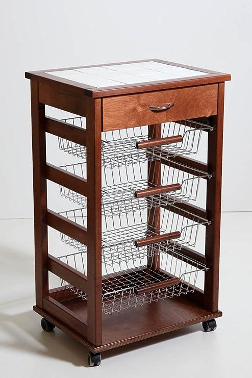 380052 - Mueble frutero con cajones de rejilla