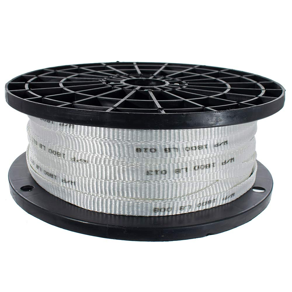 West Coast Paracord -Woven Polyester Cable Pulling Tape - Multiple Widths Available, ½ inch, 5/8inch, and ¾ inch - 500, 3000, and 5000 Foot Lengths - Used for Wire and Cable Work