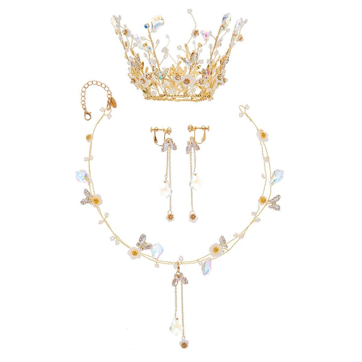 Wedding Crown, Beautiful headdress/Bridal Crown Ornament Sage Immortal Hairdressing Super Fairy Wedding Dress Accessories