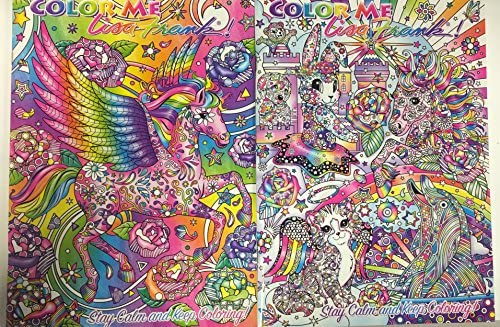 - Amazon.com: Color Me Lisa Frank Adult Coloring Book - 2 Pack (Unicorn,  Bunny, Kitten, Dolphin, Pegasus): Toys & Games