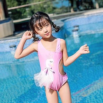 LLYY® Bañador para Niña, Traje de Baño Jugando en la Playa ...