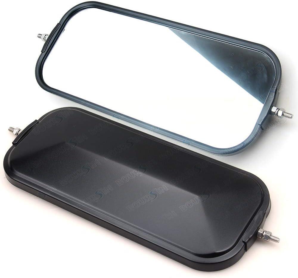 Side Door Mirror For ISUZU NPR NQR NRR NPR-HD NRR 3.9L 4.8L 5.2L 5.7L 6.0L 1986-2007 Rearview mirror Left or Right Side Black