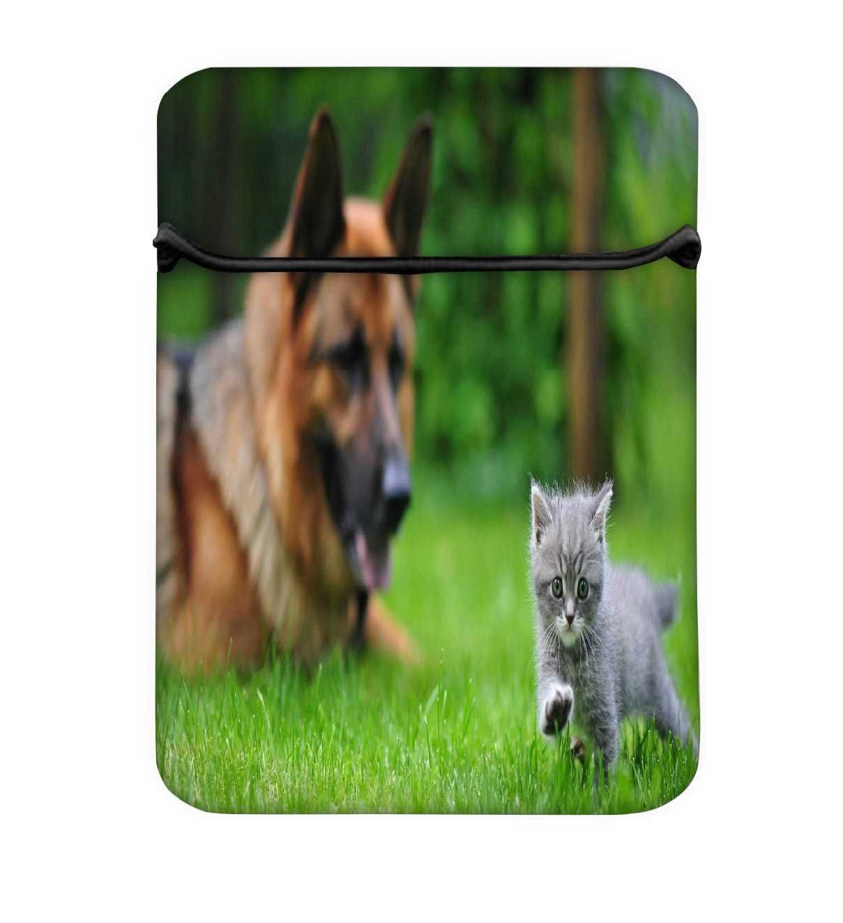 Snoogg German and Pussy Cat 10 Inch Laptop Case Flip Sleeve Bag Computer  Cover - Buy Snoogg German and Pussy Cat 10 Inch Laptop Case Flip Sleeve Bag  ...